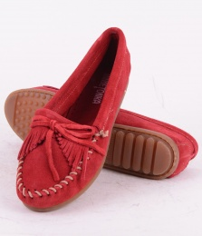Kitty Suede Red 406