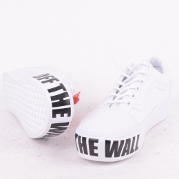 Old Skool Platform White