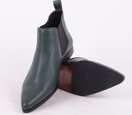 Cutz Green  Leather