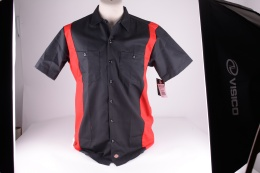 Two-Tone Workshirt Black/Red