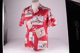 Tillar Shirt Aged Brick Red