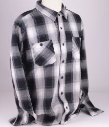 Labour Shirt Off-White Flannel