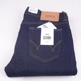 ED-80 CS Stretch Blue Rinsed