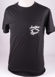 Pocket Logo  Black Tee