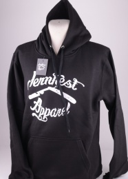 Vintage Logo Black Hood