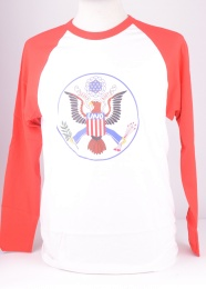 Micc68 Eagle Football Tee Red/White