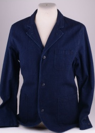 Union Jacket Indigo Dyed