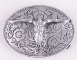 Desert Skull Belt Buckle