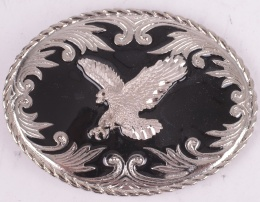 Black Eagle Belt Buckle