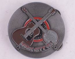 Guitar Belt Buckle
