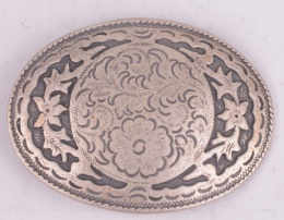 Flowerbed Belt Buckle
