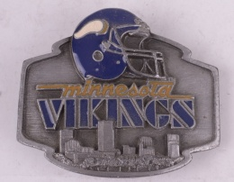 Minnesota Vikings Belt Buckle