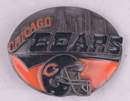Chicago Bears Belt Buckle Limited Edition #90