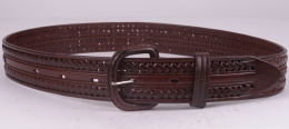 Brown Braided Belt (removable buckle)