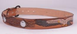Eagle Brown Belt (removable buckle)