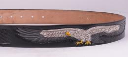 Black Eagle Belt (removable buckle)