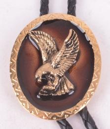 Eagle Frame Bolo Tie