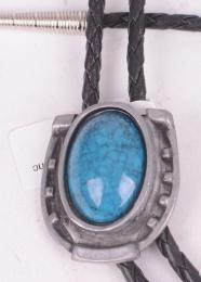 Turquoise Stone Bolo Tie