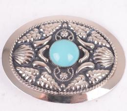 Turquoise Stone Belt Buckle