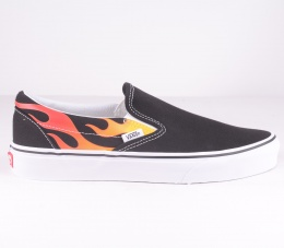 Classic Slip On Flame Black
