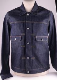 E-Classic Denim Jacket Rainbow Selvedge Unwashed