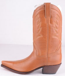 2021 High Heel Boot Cognac