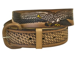Eagle Brown Belt (removable buckle)