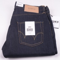 ED-55 Unwashed Deep Blue Denim
