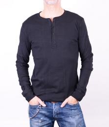 Grandpa Black LS T-shirt