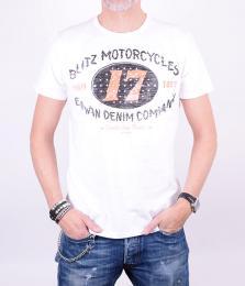 Blitz Racer White T-shirt
