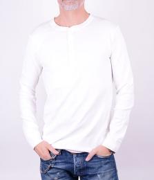 Grandpa White LS T-shirt