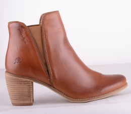 8366-186 Elastic Boot Brandy