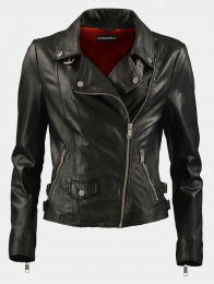 Wyare Black Leather