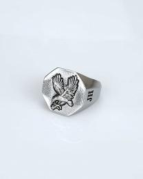 Ernie Silver Ring