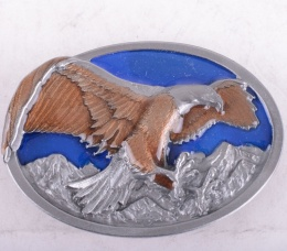 Flying Eagle Enamel Buckle