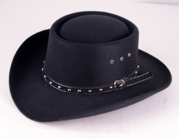 Gambler Hat Black
