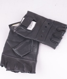 Gloves Fingerless Black