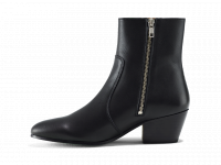 Gracie Zip Boot Blackbird