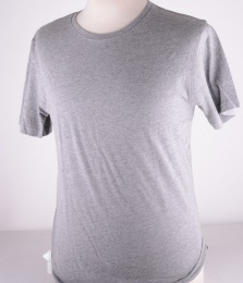 Grey Plain Rock Tee