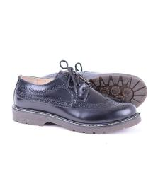 Bertrum Brogue Black