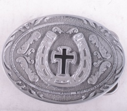 Horseshoe Cross Buckle