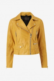 Katja Leather Yellow