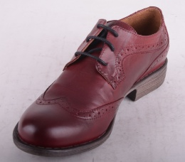 7176-129 Lace Shoe Brogue Bordeaux