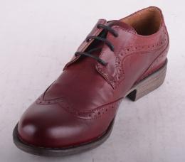 Lace Shoe Brogue Bordeaux