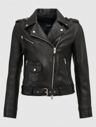 Nea Black Leather
