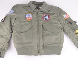 Pilot Jacket Kids Green