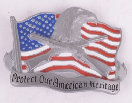 Proud America Belt Buckle