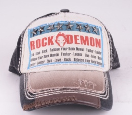 Rock Demon Star Cap Black