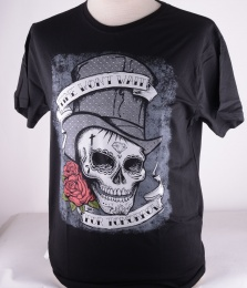 Skully Top Hat Tee