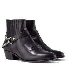 Syd Chain Boot Black